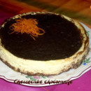 Cheese cake orange chocolat