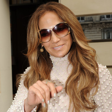 Jennifer Lopez et son brushing 70's