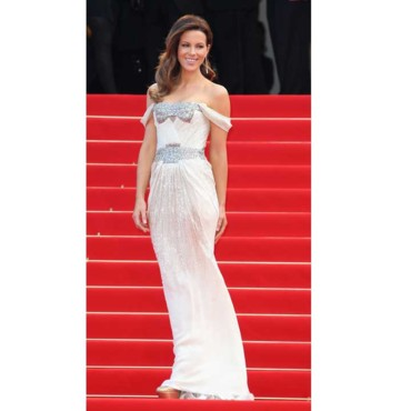 Cannes 2010 Kate Beckinsale en Sergio Rossi
