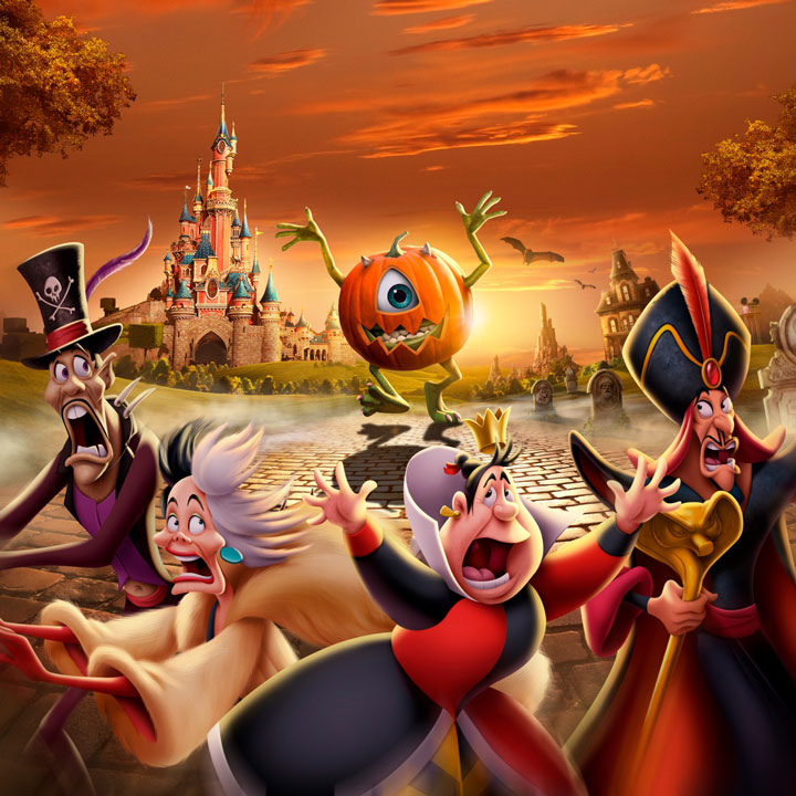 Festival halloween disney 31 jours d licieusement m chants maman - Image de halloween ...