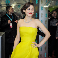 Marion Cotillard lors des BAFTA 2013  Londres le 10 fvrier 2013