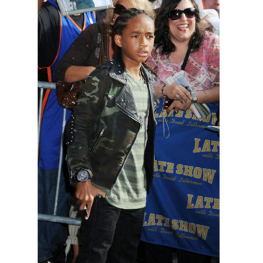 Jaden Smith en mode militaire