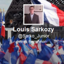 Louis Sarkozy, alias Sarko_junior, dbute sur Twitter