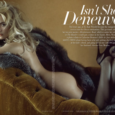 people : Kate Winslet dans Vanity Fair