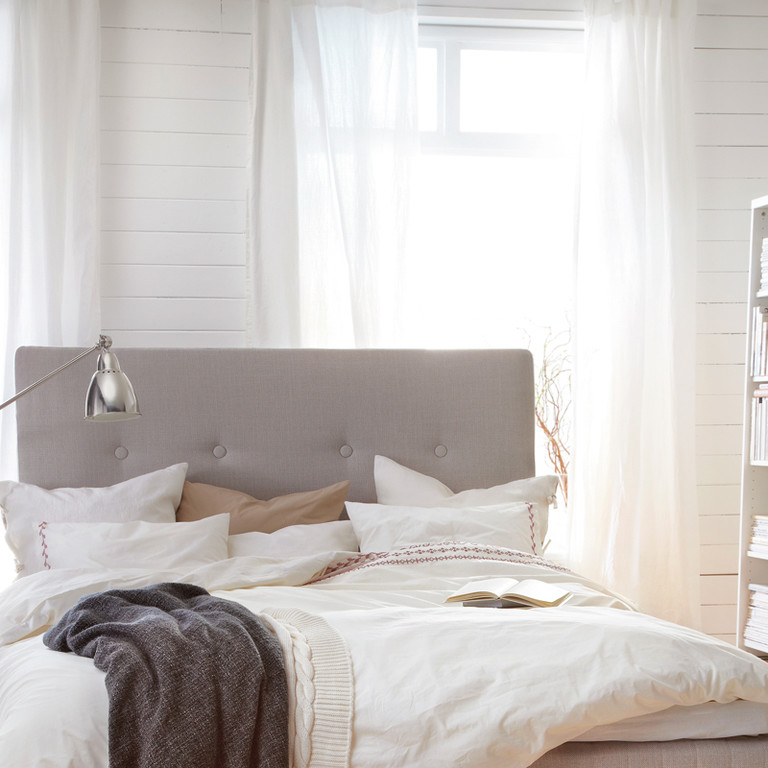 Pin t te de lit ikea on pinterest - Ikea tete de lit ...