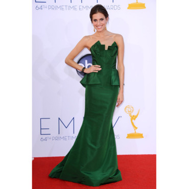 Allison Williams en Oscar de la Renta