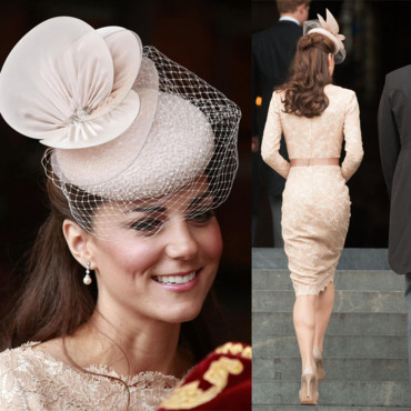 Kate Middleton le 04 juin 2012 gros plan
