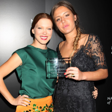 Léa Seydoux et Adèle Exarchopoulos au gala des National Board of review awards à New York le 7 janvier 2014