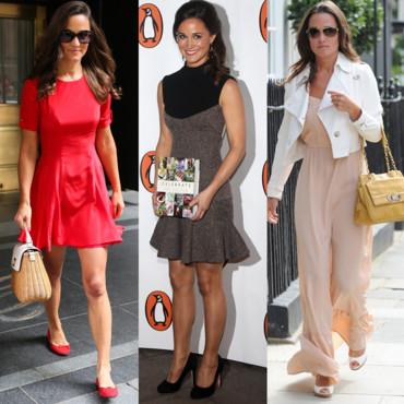 Pippa Middleton rétro look