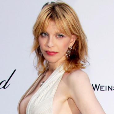 Courtney Love à la soirée de l'AmFar