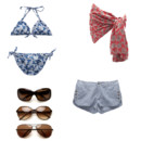 Montage collection plage Gerard Darel