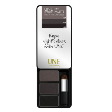 Eye Palette Dark Grey Sfumato Une By Night, Une Beauty, 20,90 €.