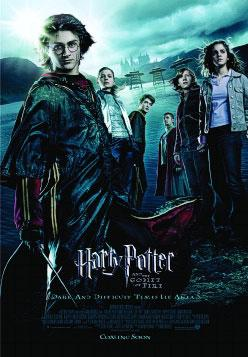 Affiche de Harry Potter et la Coupe de feu