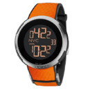 Montre orange Gucci, collection I-Gucci sport.