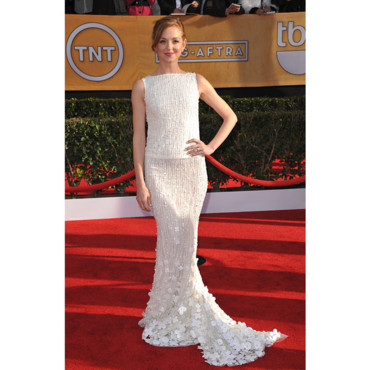Jayma Mays en Georges Hobeika Couture aux SAG Awards 2013