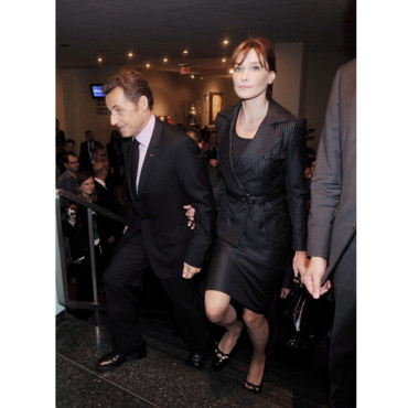 carla Bruni Nicolas Sarkozy international