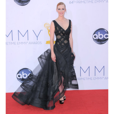January Jones en Zac Posen