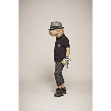 Le pantalon slim rayé IKKS Junior