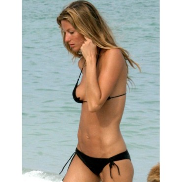 people : Gisele Bundchen à Miami Beach en 2007