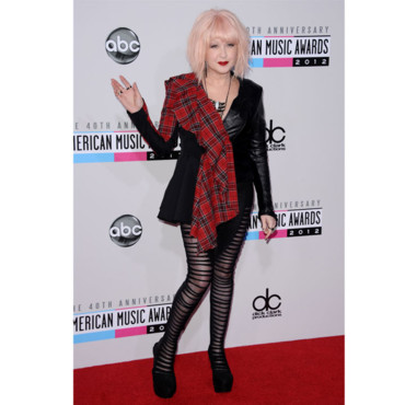Cyndi Lauper aux American Music Awards
