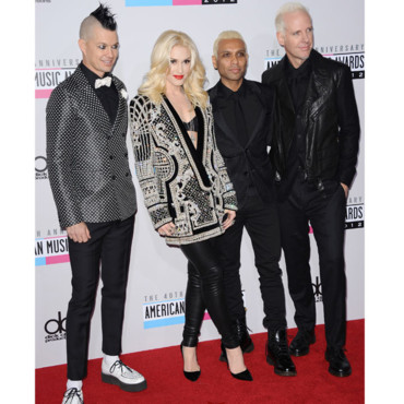 Gwen Stefani et son groupe No Doubt aux American Music Awards