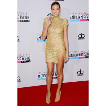 Heidi Klum aux American Music Awards