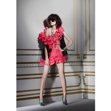 Lanvin loves H&M look 11