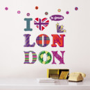 Sticker Nouvelles Images : I love London