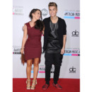 Justin Bieber et sa mère Pattie Mallette aux American Music Awards