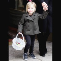 Photo : Shiloh Nouvel Jolie-Pitt, une vraie fashionista!