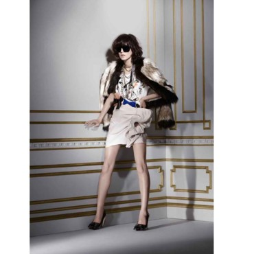 Lanvin loves H&M look 14