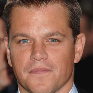 People : Matt Damon