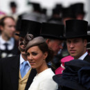 Kate Middleton et le Prince William à la course d'Epsom