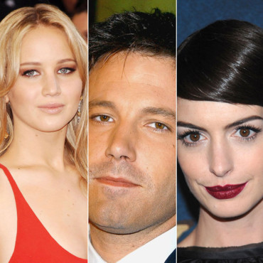 Jennifer Lawrence, Ben Affleck et Anne Hathaway