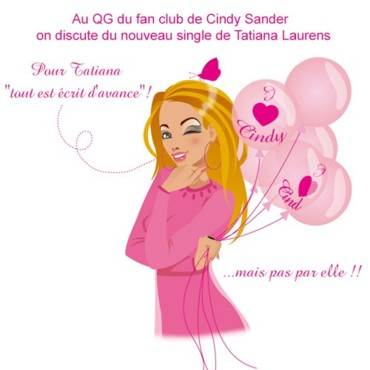 people : Au fan club de Cindy Sander
