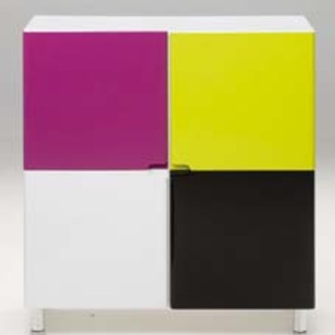 commode rainbow alin a objet d co d co. Black Bedroom Furniture Sets. Home Design Ideas