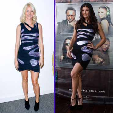 Match de look Fergie vs Gwyneth Paltrow