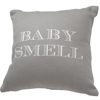 Coussin gris baby Smell