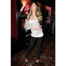 Lily Aldridge lors de la présentation de la collection Holiday 2012 de Victoria's Secret à New York