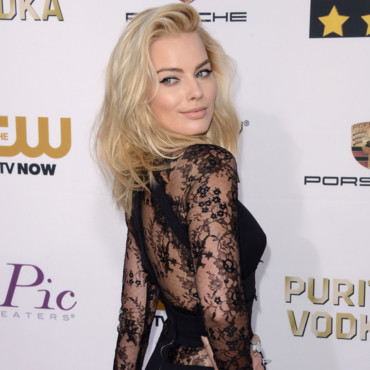 Margot Robbie aux Critics Choice Awards le 16 janvier 2014