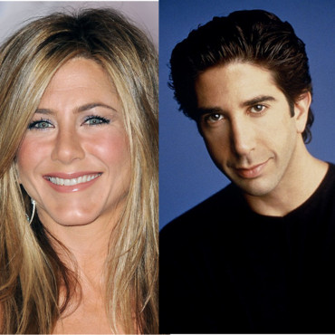 Jennifer Aniston et David Scwhimmer