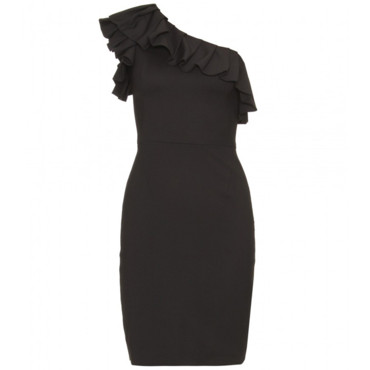 La robe one shoulder Rachel Zoe sur MyTheresa.com, 410 euros