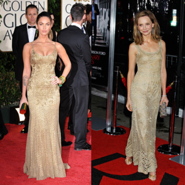 Match de look Megan Fox vs Calista Flockhart
