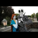 Disney Halloween : Jack Skellington et son amie Sally