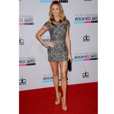 Stacy Keibler aux American Music Awards