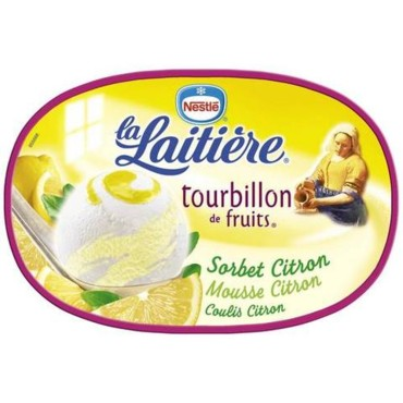 Nestlé - La laitière - Tourbillon de fruits Citron