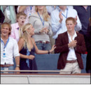 Chelsy Davy rieuse avec le Prince Harry