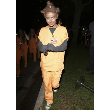 Julianne Hough dégusée en Crazy Eyes de la série Orange is the new black pour Halloween 2013