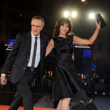 Sophie Marceau et son mari Christophe Lambert