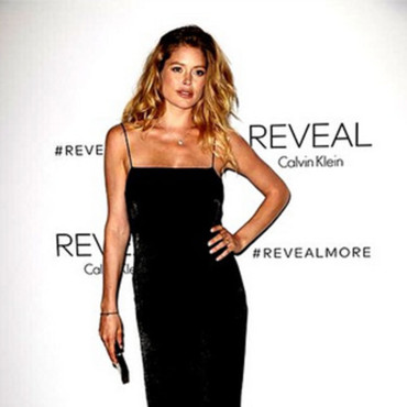 Doutzen Kroes à la soirée Calvin Klein le 9 septembre à New York lors de la Fashion Week.